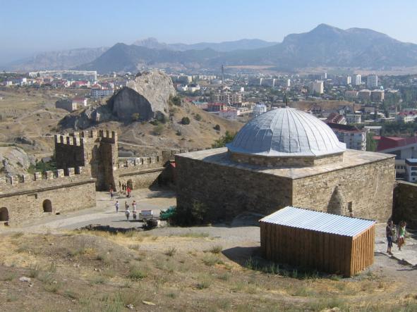Судакская крепость - Зимний  Крым