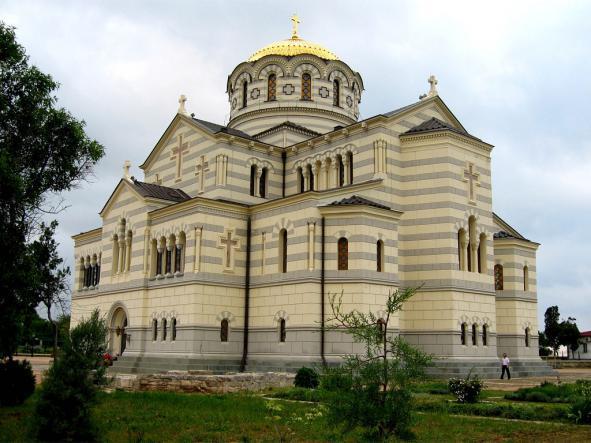 владимирский собор - Севастополь + Балаклава.