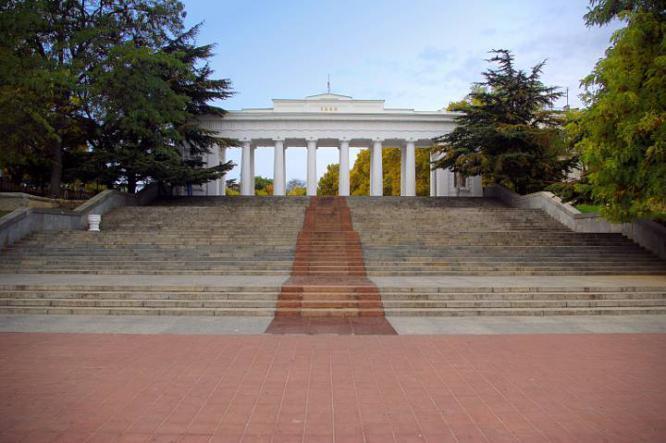 графская пристань - Севастополь + Балаклава.