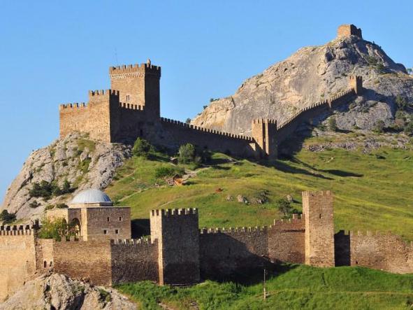 Судакская крепость. - Юго-Восточный Крым