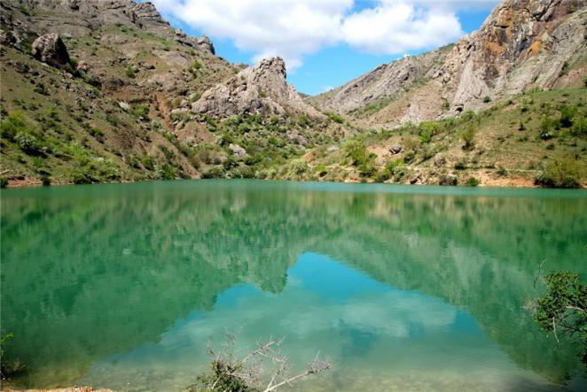 Озеро в Зеленогорье - Юго-Восточный Крым
