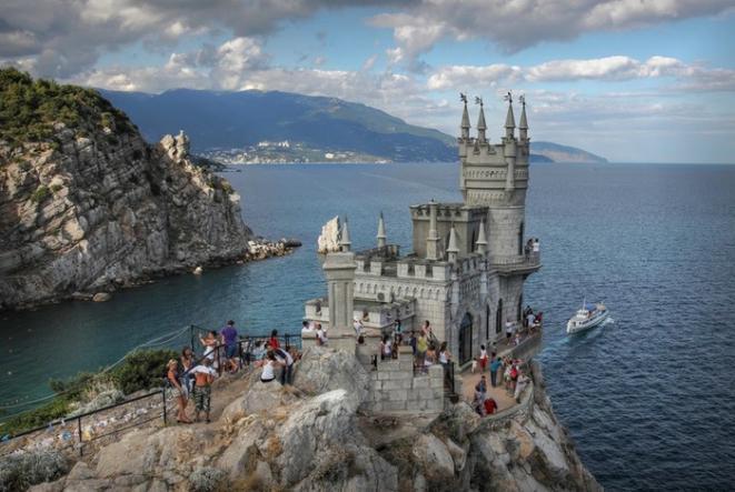 Замок Ласточкино гнездо - Крым глазами кинолюбителя