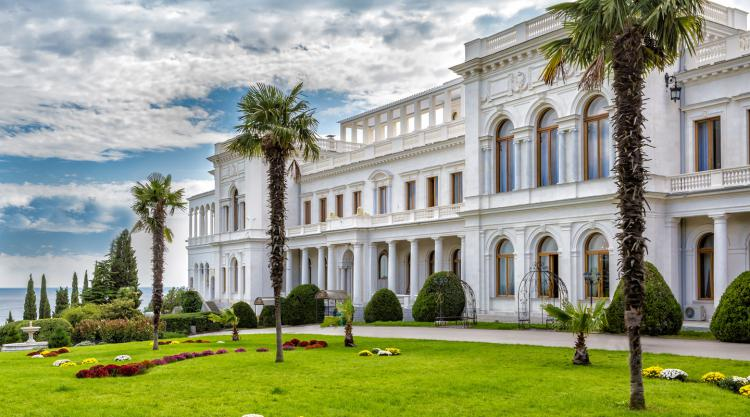 Ливадийский дворец. Крым - Крым глазами кинолюбителя